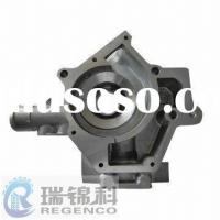 Die-cast Automotive Water Pump Part, Made of Aluminum A380 and Precision CNC Machining, Shot Blast