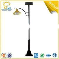Powerful 15w 15w Lamps Solar Parking Lights with two arms