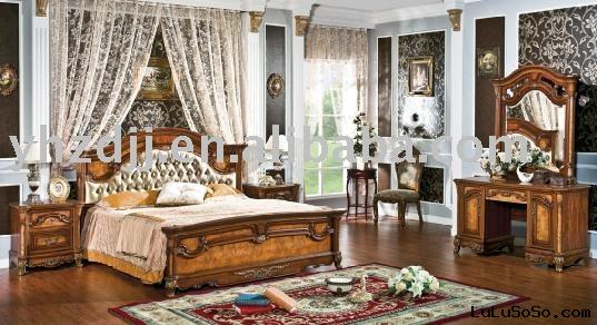 home  furniture european classic bedroom  8005