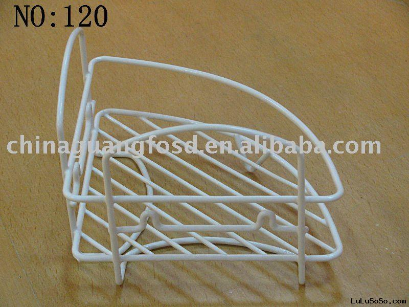 Kitchen rack,corner rack,powder coated rack,white rack,3layer rack,metal rack
