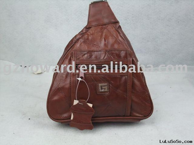 real leather handbag with high quality low price