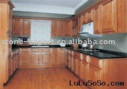 Chestnut Maple Kitchen Cabinets (Solid Wood)