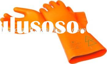 rubber industrial insulating gloves