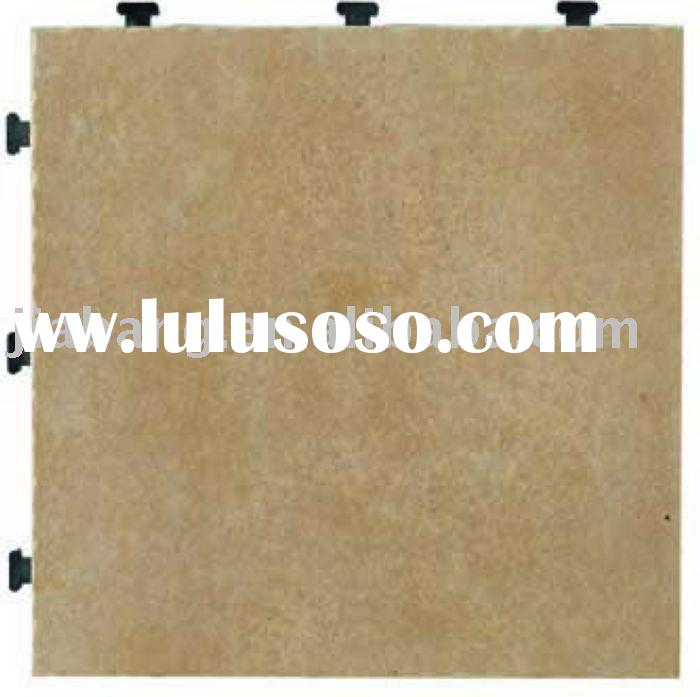 Without cement to install the tile.floor tile,ceramic tile.interlocking tile