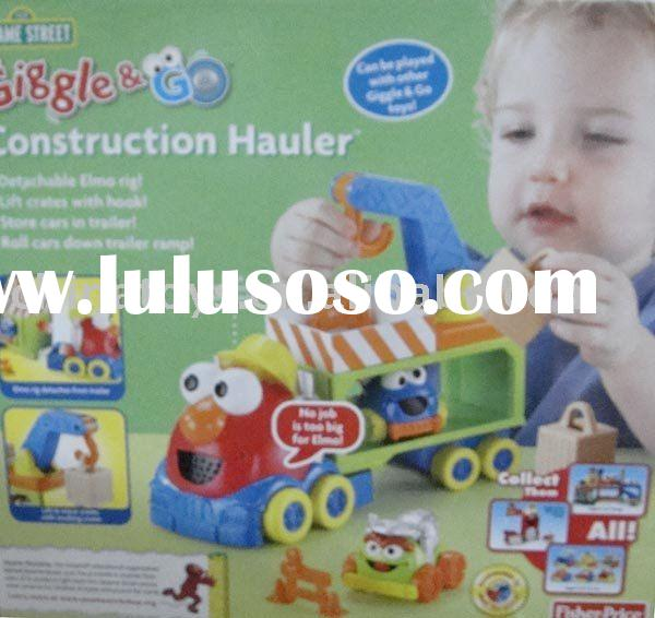 Fisher-Price Sesame Street Giggle 'N Go - Construction Hauler/children cars/toy vehicle