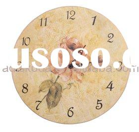 Wooden Craft Wall Clock (22-097)