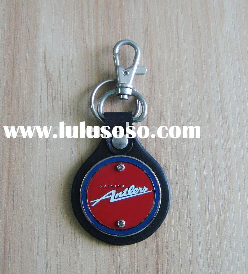 leather keyring, key chain