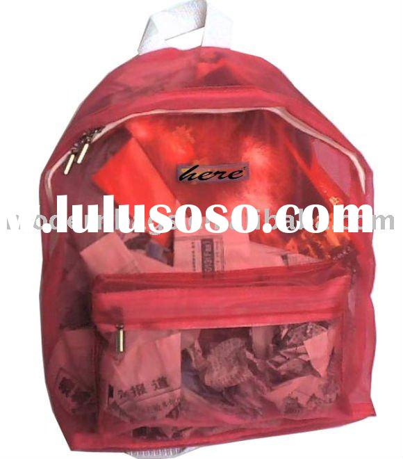 "12"" mesh kids backpack"