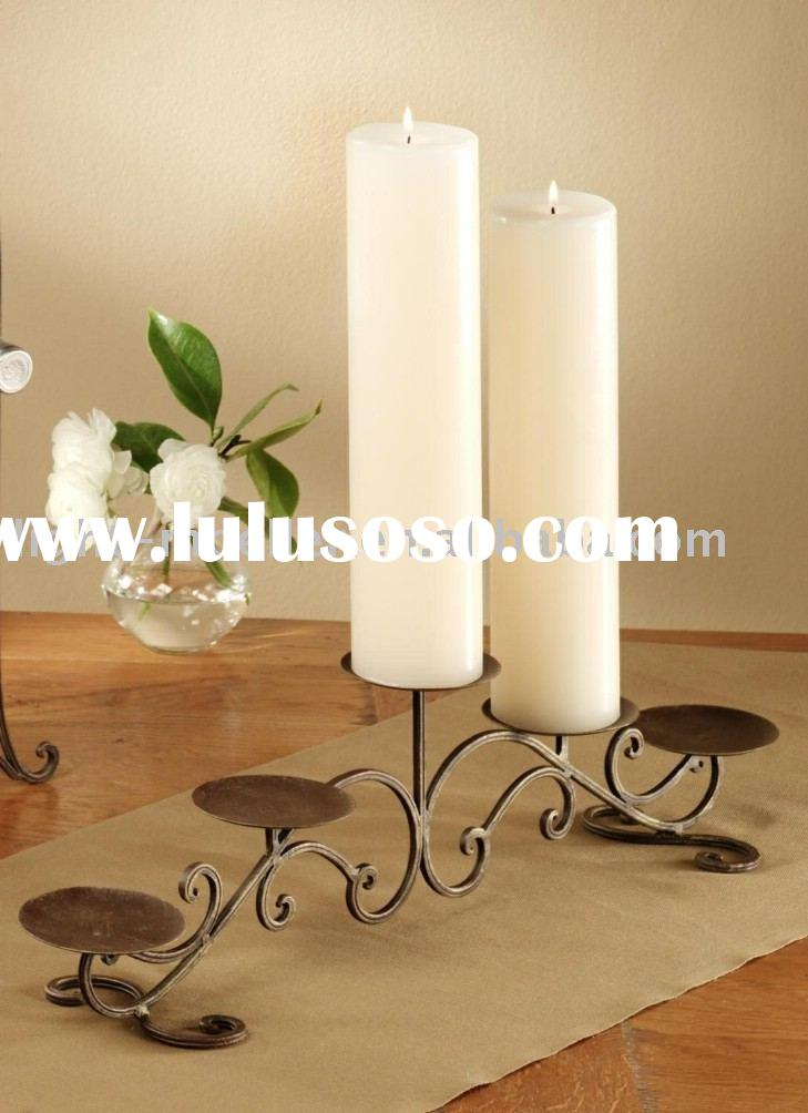 wrought iron candle holder for 5 candles
