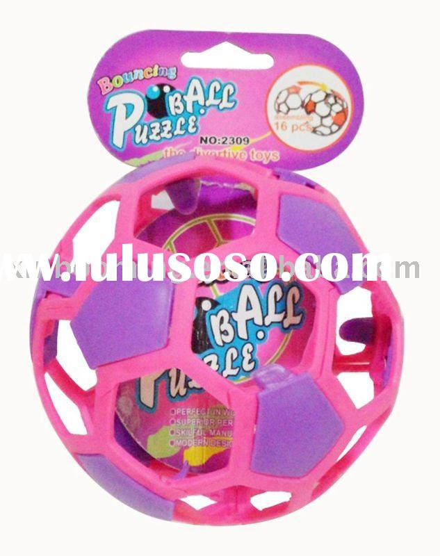 Plastic puzzle ball toys