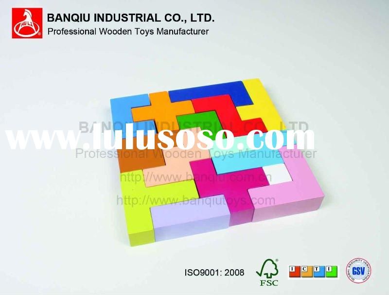 Wooden Toys Cube Puzzle
