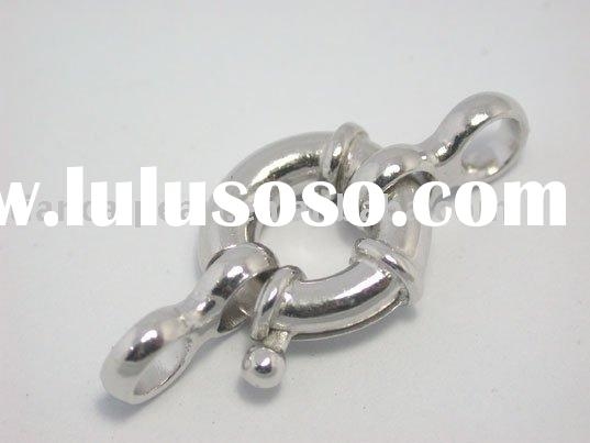 925 Sterling Silver Spring Ring Clasp Finding 12mm