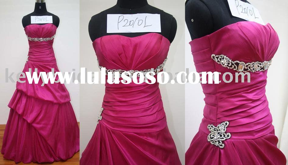 2010-2011 best running ball gown, prom dress style