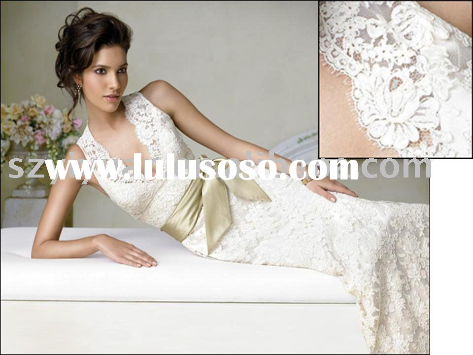 2011 lace bridal wedding dress