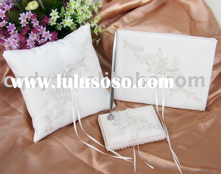 2011 embroider wedding decoration /wedding  ring pillow/Wedding Gift /wedding favor