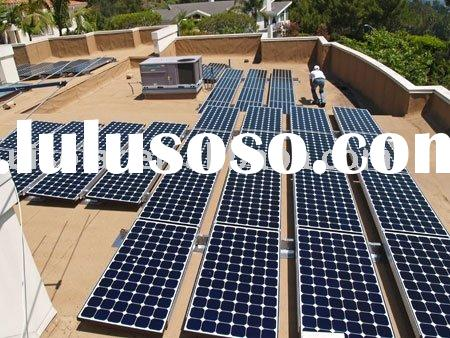 solar panel (Mounting system:Flat Roof solution)