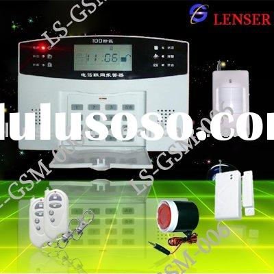 99 zones Home Security Burglar Alarm System(LS-GSM-006)