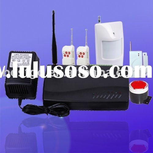 GSM Wireless Home Burglar Alarm System with 3-Wired Zones
