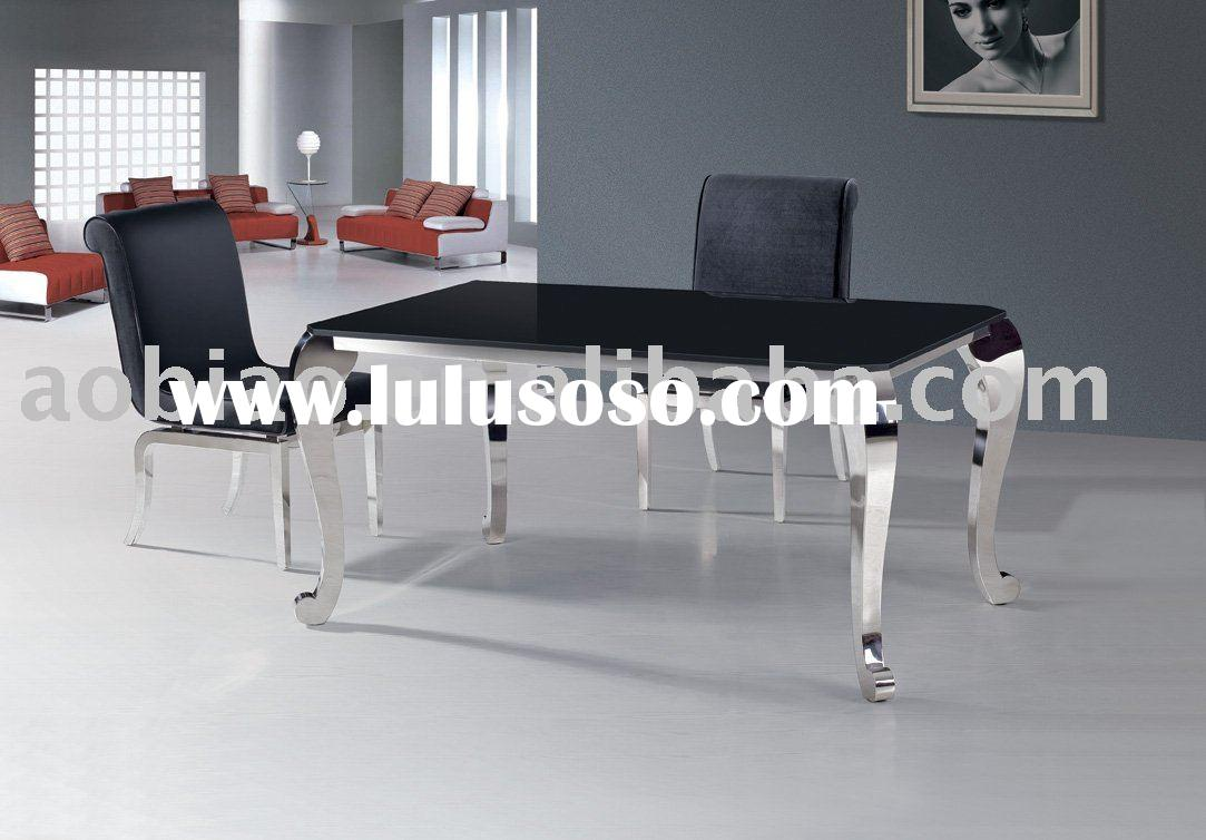2011 New Classic furniture,dining table,stainless furniture,glass furniture,752#