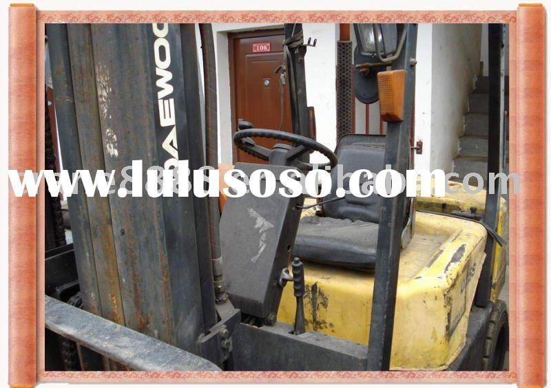 used Daewoo 2.5T forklift used Daewoo forklift used machine