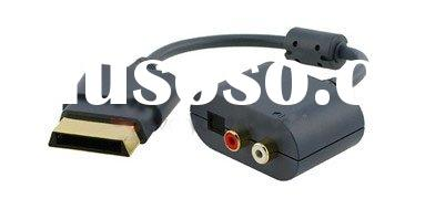 Optical Audio Adapter For XBOX 360 HDMI AV Cable Gaming