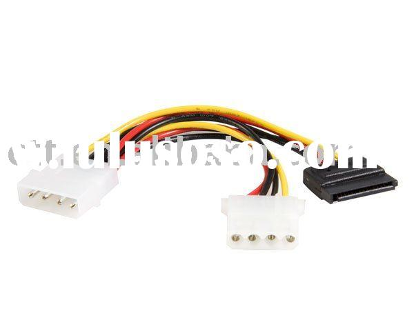 SATA Power Y Cable Adapter