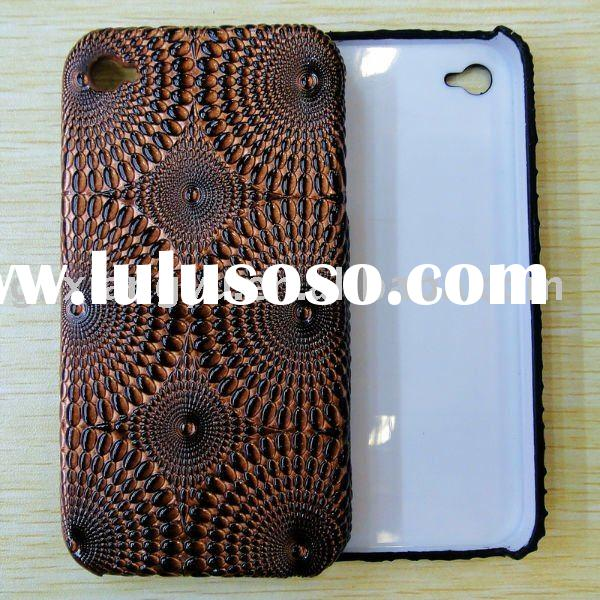 Leather mobile phone case for iPhone4G