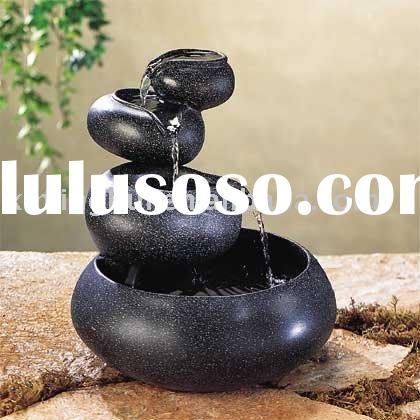 Bowl Step Indoor  tabletop fountain