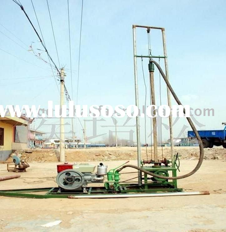 HF-80 hot sale in Africa and South America farm irrigation water well drilling equipment