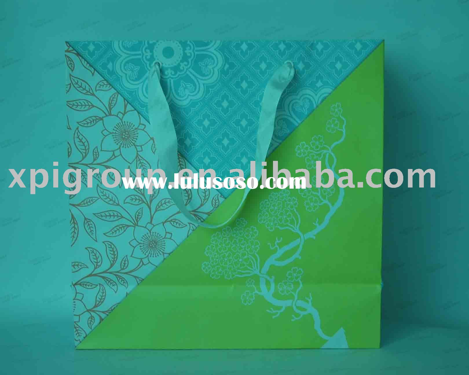 Paper Bag/hand made paper bag/luxury paper bag