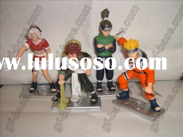 naruto action cartoon figures,naruto anime figures,naruto pvc figures,plastic action figures