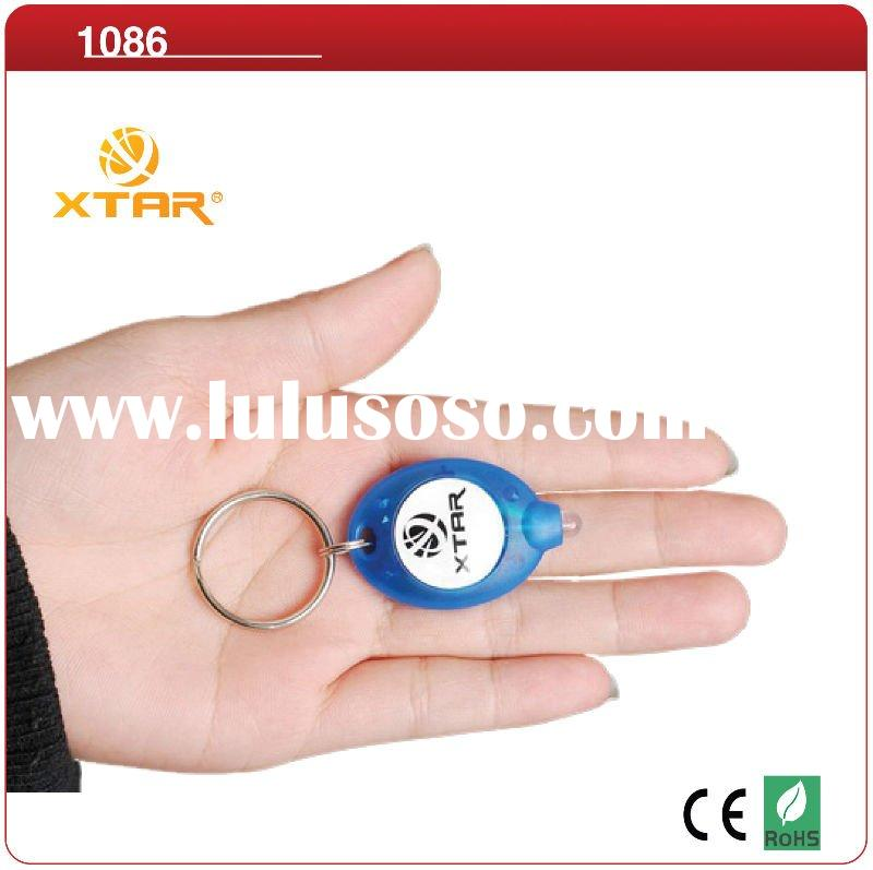 XTAR 1999 Ultra Bright LED Plastic Mini-Key chain Light gifts