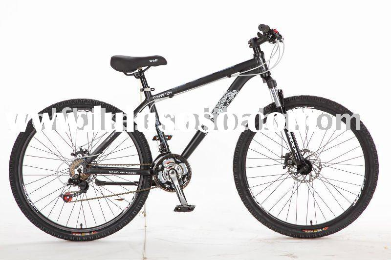 21speed SHIMANO suspension mountain bicycle