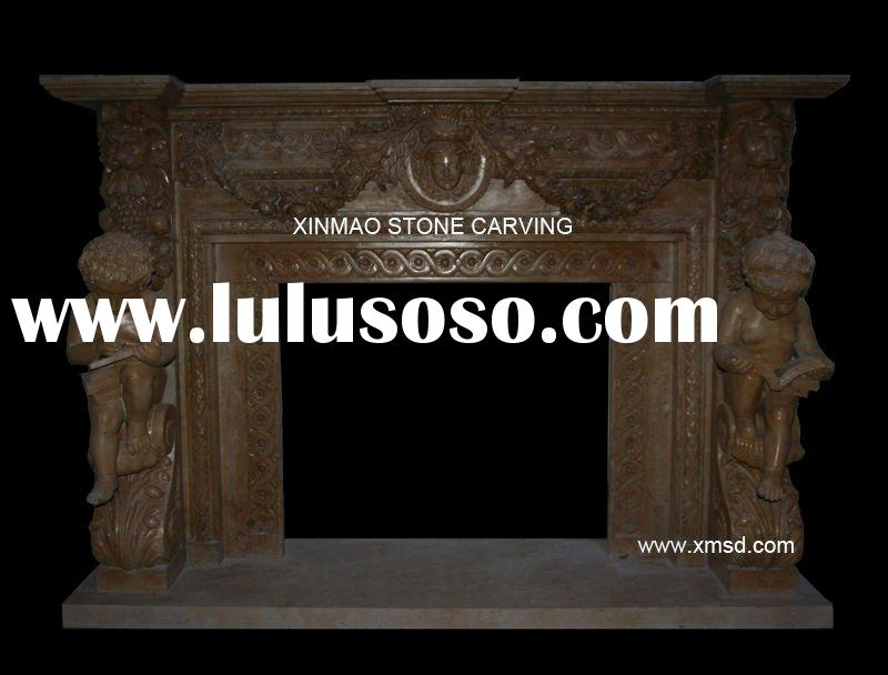 Stone Fireplace Mantle -XMFP53