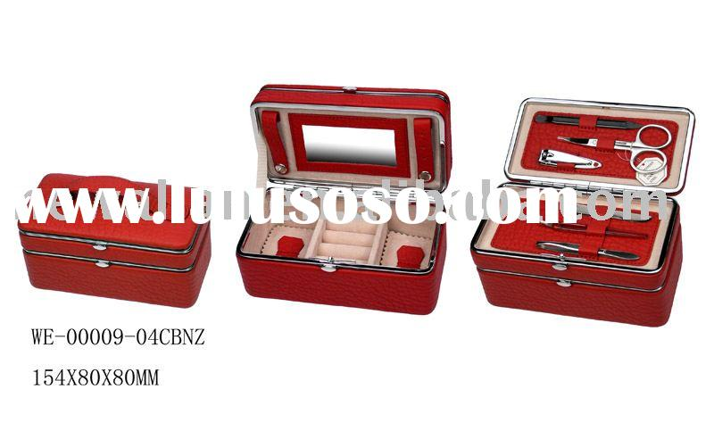 stainless steel Manicure sets & Jewelry boxes