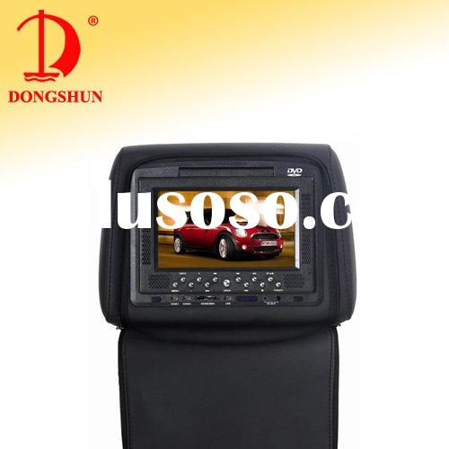 Car Head Rest DVD player(SONY Lens,Zipper Cover)