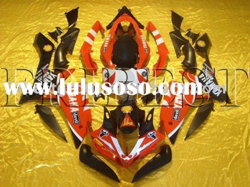 Aftermarket complete bodywork motorcycle  fairing kit for YAMAHA YZF R1 07 08 2007 2008 Santander