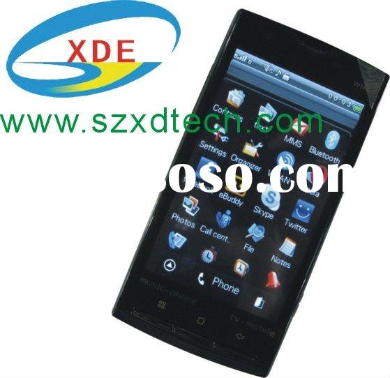 3.8 inch Big Screen Display Cell Phone X10 with Wifi Facebook Twitter Skype MSN Yahoo