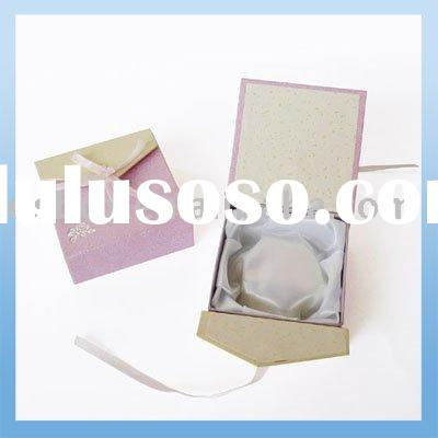 Paper Plastic Jewelry Packing Box Case Display