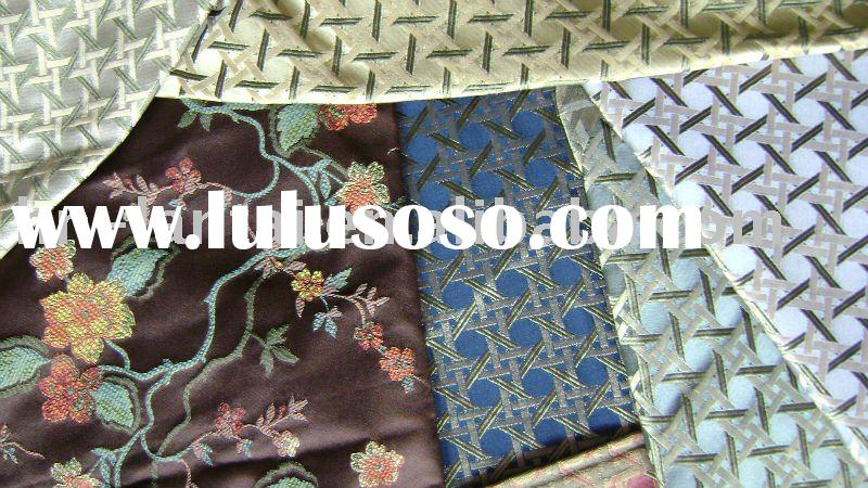 100%silk brocade/jacquard/satin fabric