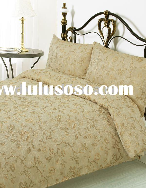 3 Pieces Color Woven Jacquard Bedding Set Bedding Comforter Set Bed linen Duvet Cover