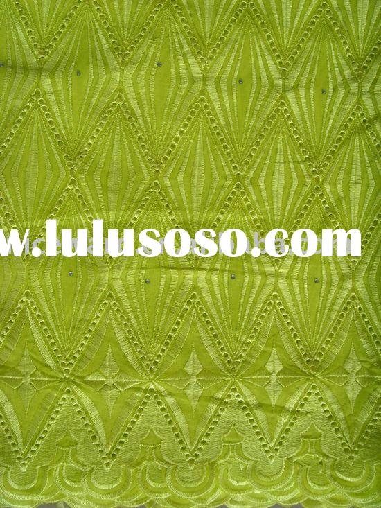 swiss cotton  voile lace fabric