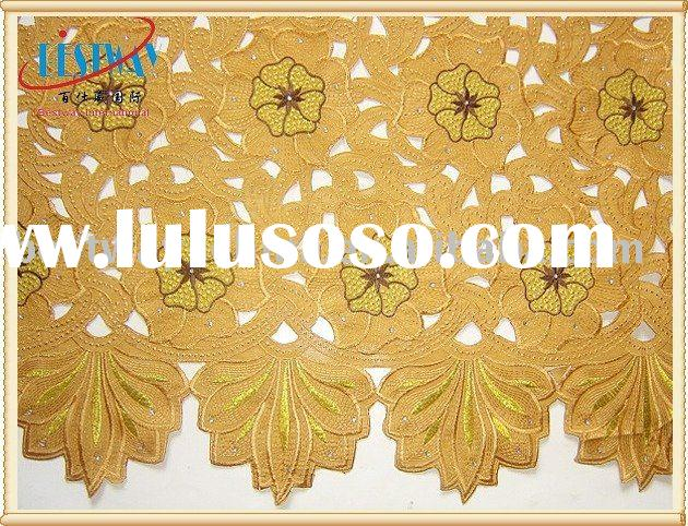 African Handcut Lace Fabrics TL0052