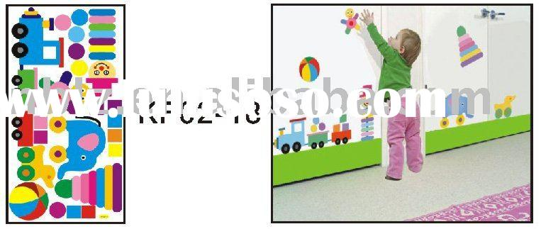 decorative pvc wall sticker for kids