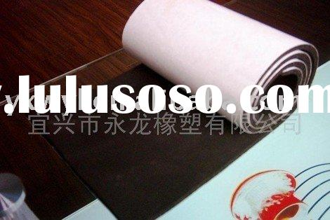 Self-adhesive rubber foam sheet