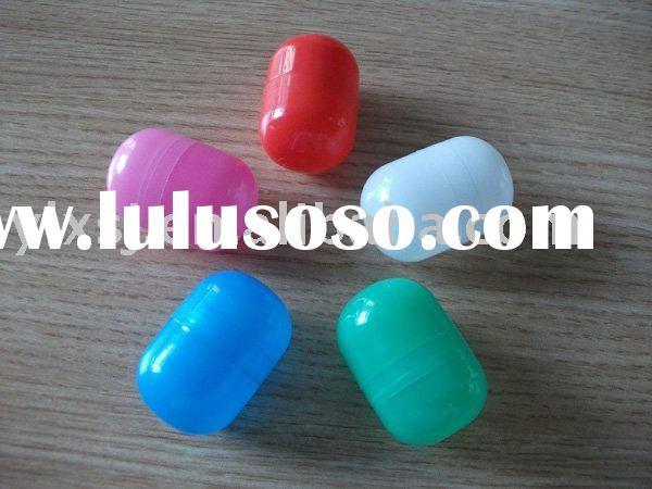 plastic capsule and toy for surprise egg or vending machine