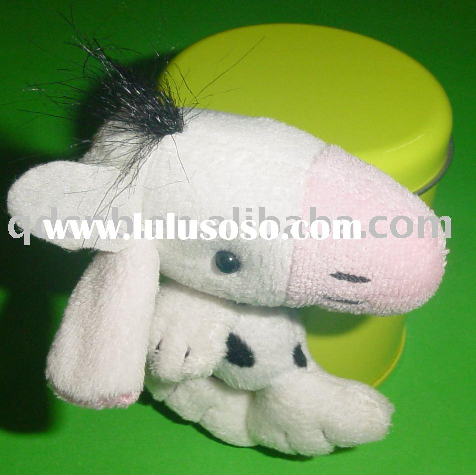 Magnet Horse Magnet Plush Horse with Tin Box Mini Plush Horse Keychain Stuffed Animal Mobile Phone S