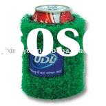 artificial grass turf beer can cozier, can Koozie,can cooler