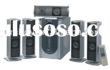 remote control 5.1 speaker, 5.1 home theater system speaker, 5.1 speaker box