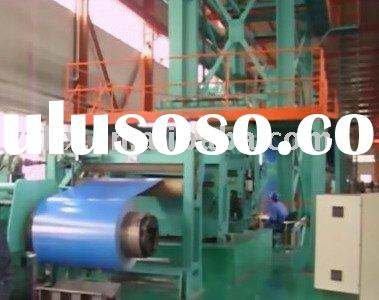 Coating line for aluminum coil